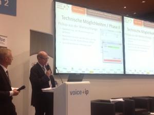 Voice + IP: Vortrag kostenlose Warteschleife mit Klaus Zschaage