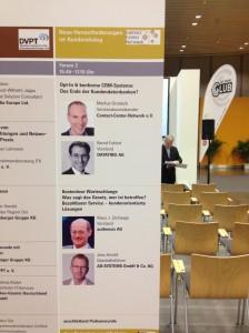Vortrag der CCN Experten auf der Voice + IP, Messe Frankfurt