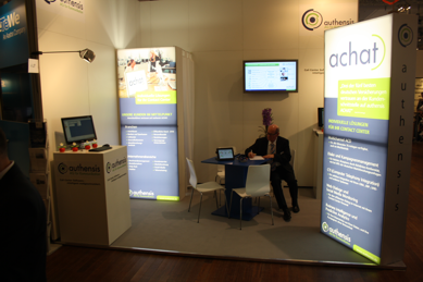Authensis AG in Halle 4