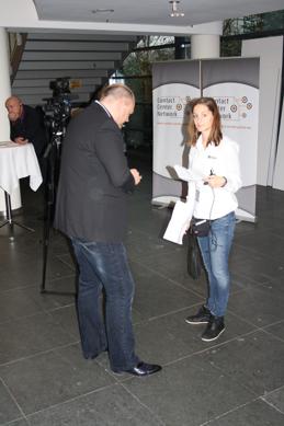 Experteninterview des Contact-Center-Network: Mira Matus vom CCN mit Interviewpartner Udo Schüring vom Call Center Club
