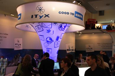Responsemanagement mit ITyX in Halle 4